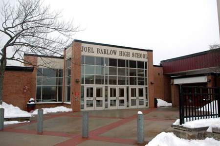 Joel Barlow High School (Where Benny is headed next fall — if he makes it!)