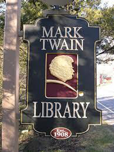 The Mark Twain Library (founded by Samuel Clemens in Redding, Connecticut)